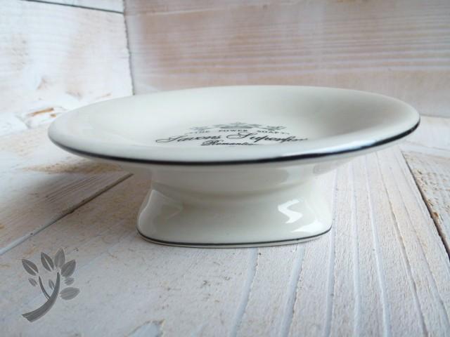 seifenhalter savons keramik seifenablage nostalgie badablage ablage l. Black Bedroom Furniture Sets. Home Design Ideas