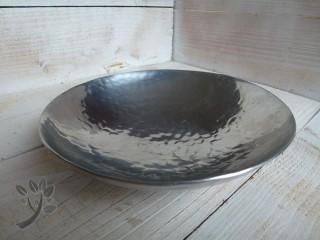 Schwimmlinse schwimmschale metall silber gartenteich teich for Gartenteich deko