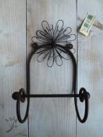 wandhaken landhaus metall braun haken handtuchhaken. Black Bedroom Furniture Sets. Home Design Ideas