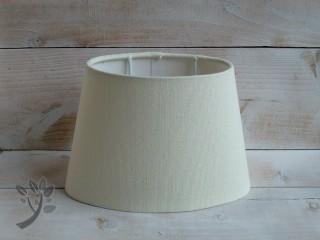 lampenschirm stoff creme stehlampe lampenschirm oval vintage landhaus. Black Bedroom Furniture Sets. Home Design Ideas