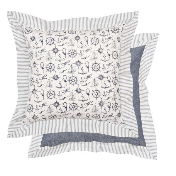 clayre eef kissenh lle maritim kissenbezug kissen baumwoll. Black Bedroom Furniture Sets. Home Design Ideas