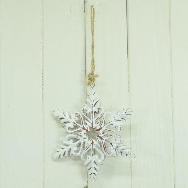 Hanger Weihnachten Schneeflocke Baumschmuck Christbaumschmuck Flocke