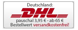 Versand pauschal 3,95 € - ab 65 €Bestellwert versandkostenfrei!